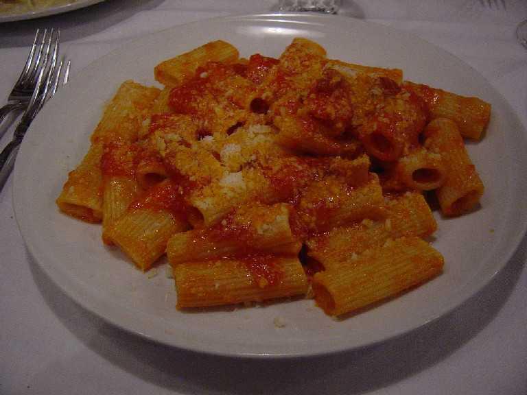 ローマ料理、食材とワイン